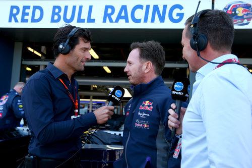 Mark Webber entrevista a Christian Horner