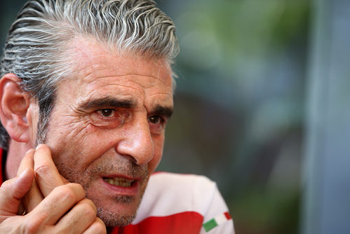 Maurizio Arrivabene en Sepang