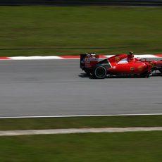 Kimi Räikkönen no se quedó totalmente contento