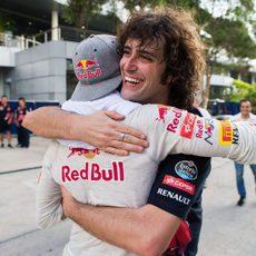 Carlos Sainz termina el GP de Malasia 2015 en 8ª posición