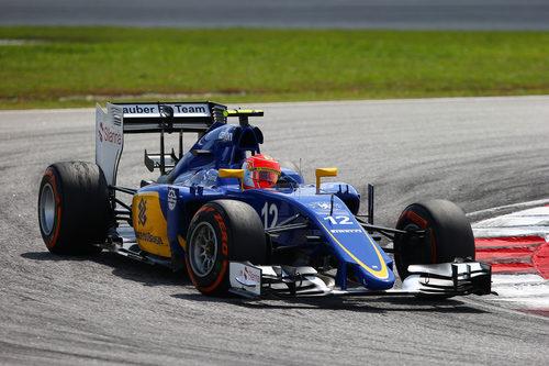 Felipe Nasr termina fuera de los puntos