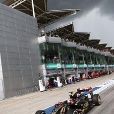 El paso por el paddock fue determinante para el resultado de la clasificación