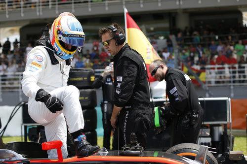 Fernando Alonso constató las mejoras del McLaren en Malasia