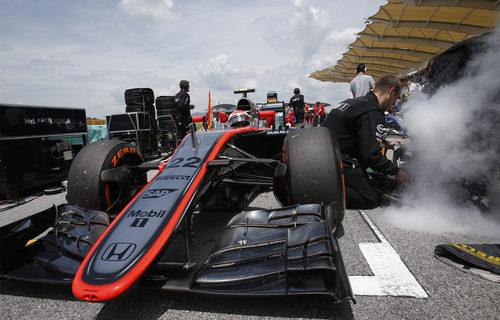 El hielo seco fue uno de los aliados de pilotos como Jenson Button