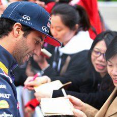 Daniel Ricciardo acumula fans por todo el mundo