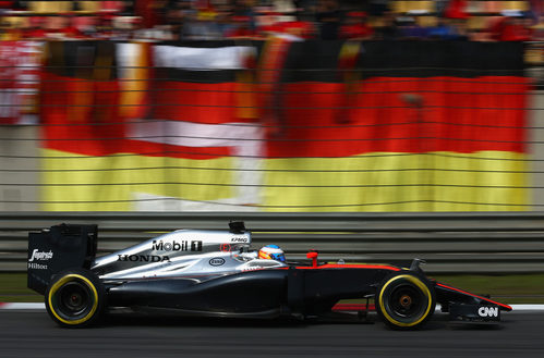 Fernando Alonso saldrá 19º en qel GP de China 2015