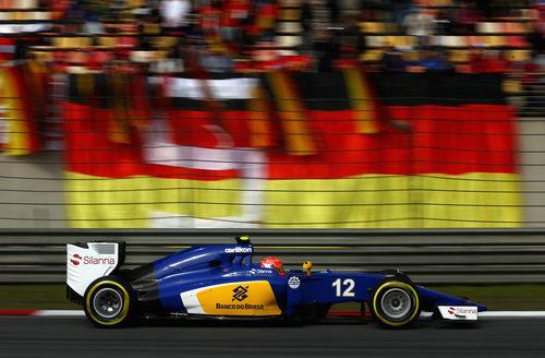 Felipe Nasr clasifica en novena posición en el GP de China 2015