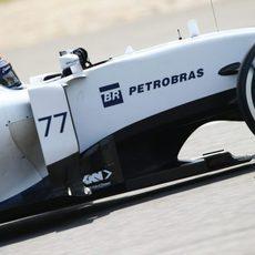 Valtteri Bottas clasificó en 5ª posición en el GP de China 2015