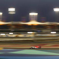 Merhi cerró la clasificación de los libres de este viernes