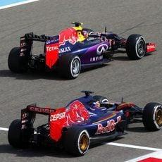 Toro Rosso y Red Bull comparten motorista y problemas de fiabilidad