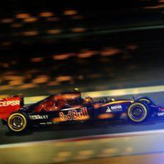 Carlos Sainz consiguió pasar a la Q3