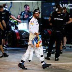 Fernando Alonso, primera vez en Q2 para el español