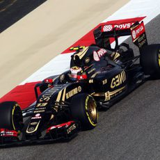 Pastor Maldonado rodando con buen ritmo en la FP3