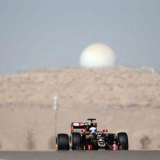 Romain Grosjean se hace con la décima posición de la parrilla de salida