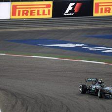 Nico Rosberg clasifica en tercera posición