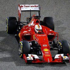 Sebastian Vettel clasifica en segunda posición