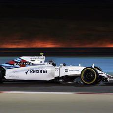 Valtteri Bottas muestra un buen ritmo de carrera