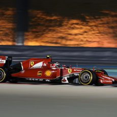 Kimi Räikkönen escaló hasta la segunda posición