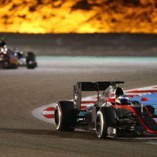 Fernando Alonso exprime su MP4-30