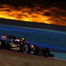 Romain Grosjean llega hasta la séptima posición