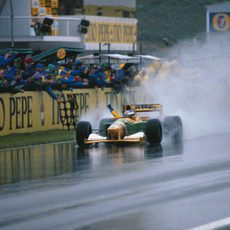 1992: Segundo puesto para Schumacher