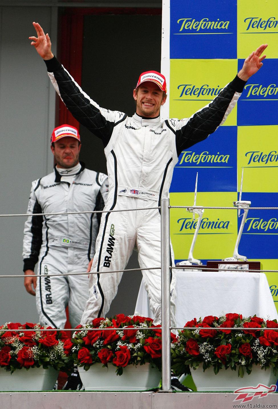 Brawn también triunfó en Barcelona