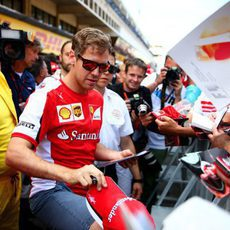 Sebastian Vettel inicia la 'temporada europea' como piloto de Ferrari