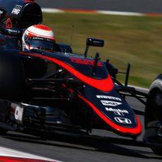 Jenson Button entra en la Q2