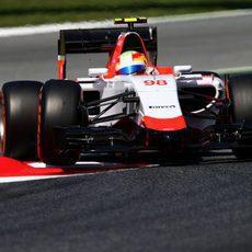 Roberto Merhi clasificó en última posición