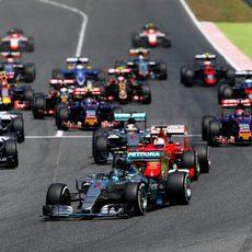 Arranca el Gran Premio de España 2015