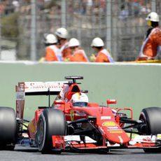 Sebastian Vettel finaliza en tercera posición en el GP de España 2015