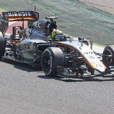 Nick Yelloly por primera vez a los mandos de un Fórmula 1