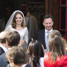 Christian Horner se casa con Geri Halliwell