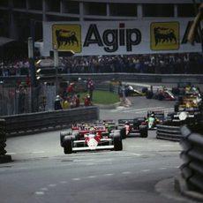 1988: Senna comanda el grupo