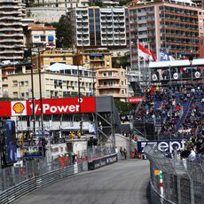 Romain Grosjean ha terminado la jornada contento con el coche