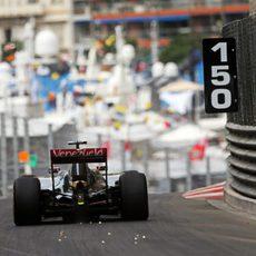 Pastor Maldonado ha conseguido un buen balance en los primeros libres