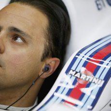 Felipe Massa se ha mostrado preocupado por la falta de rodaje