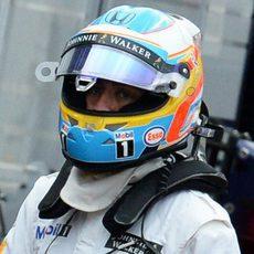 Fernando Alonso abandona en clasificación