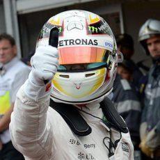 Lewis Hamilton da su 'ok' en Mónaco