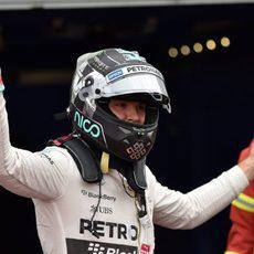 Nico Rosberg acaba segundo en clasificación