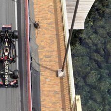 Romain Grosjean se queda fuera de la Q3