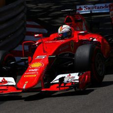 Sebastian Vettel acaba en segunda posición en Mónaco