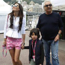 Flavio Briatore junto a Elisabetta Gregoraci