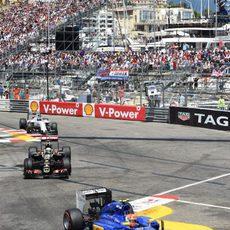 Felipe Nasr sigue mejorando a bordo de su C34