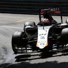 Nico Hülkenberg se va del GP de Mónaco 2015 sin puntos