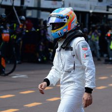 Fernando Alonso abandona en Mónaco