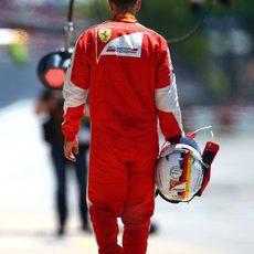 Sebastian Vettel cae en Q1 en Montreal