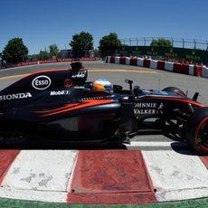 Fernando Alonso saldrá en la 13ª posición