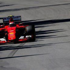 Mejor posición de salida en 2015 para Kimi Räikkönen