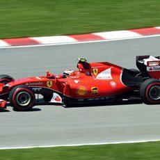 Kimi Räikkönen acaba contento la clasificación